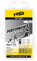 Парафин Toko Performance 40 g black, DLC