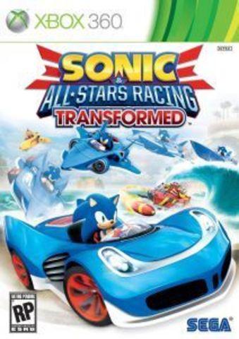 Sonic & All-Stars Racing Transformed (Xbox 360 - Xbox One/Series X, английская версия)
