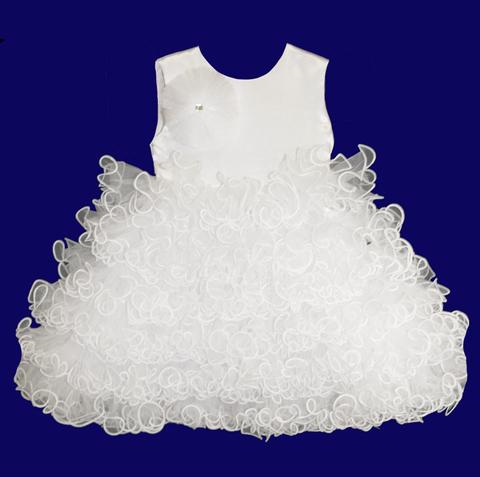 Платье для малышек белое