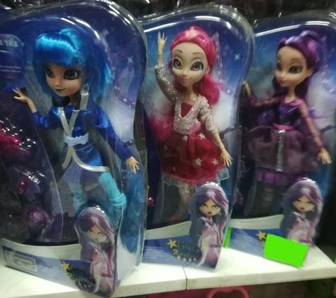 Разноцветные куколки
