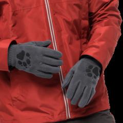 Перчатки Jack Wolfskin Paw Gloves grey heather - 2