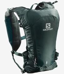 Рюкзак для бега Salomon Agile 6 Set Green Gables