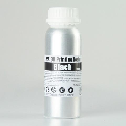 Фотополимер Wanhao Standard Resin, чёрный (250 мл)