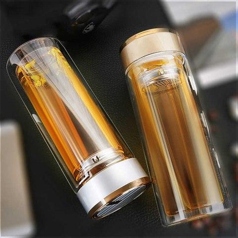 Бутылка для заваривания № 1 (Gold), 280 мл, Чайная посуда
