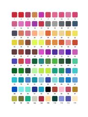 Mazari Artist набор маркеров для скетчинга 100 шт двусторонние акварельные пуля/кисть 0.4-3.5 мм