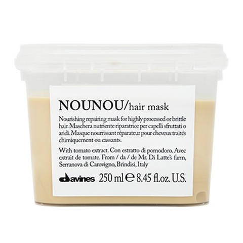 Davines Essential Haircare NOUNOU: Интенсивная восстанавливающая маска для глубокого питания волос (Nounou Hair Mask)