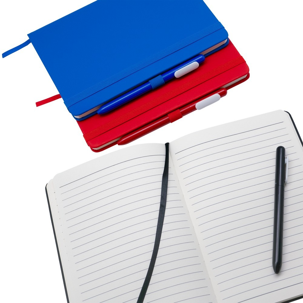 Antibacterial Set (Notebook and Pen), black