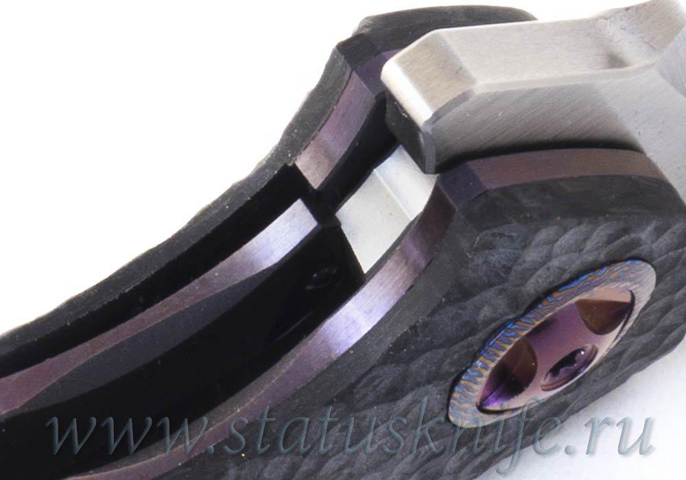 Нож Eric Ochs Orca Titanium Purple accent - фотография