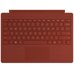 Клавиатура Microsoft Surface Pro Signature Type Cover (Poppy Red) РУС красный чехол-алькантра