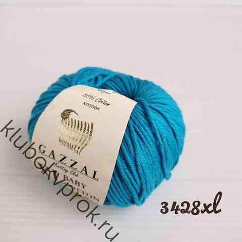 GAZZAL BABY COTTON XL 3428XL, Яркий синий