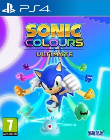 Sonic Colors: Ultimate (PS4, русские субтитры)