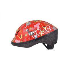 Велошлем HQBC, FUNQ Animals, красный