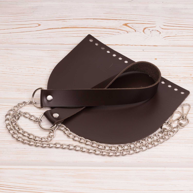 """Каталог Комплект для сумки """"Темно-коричневый"""" IMG_4419.JPG"""