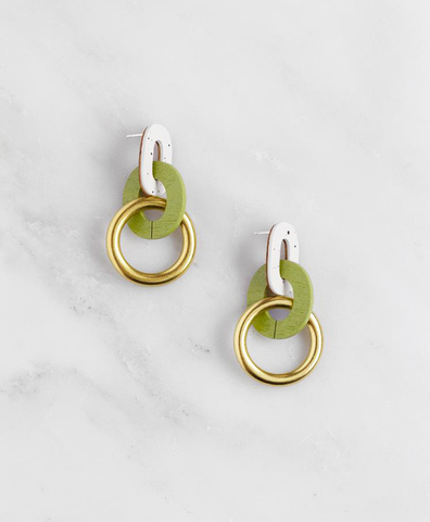 Серьги Thea Earrings in Apple