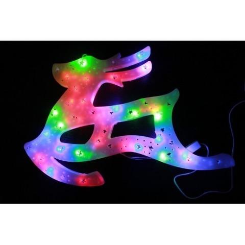 Акриловая светодиодная подвесная фигура Олень