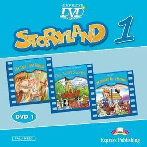 Storyland 1 DVD - сборник мультфильмов