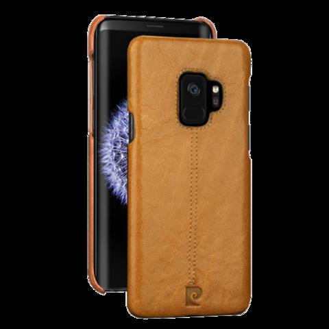Pierre Cardin / Чехол для Galaxy S9 | Коричневый