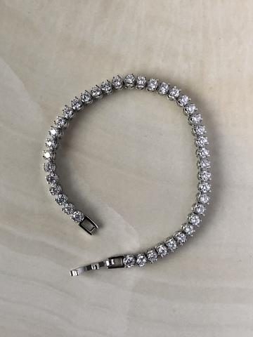 Браслет Фаира, серебряный цвет