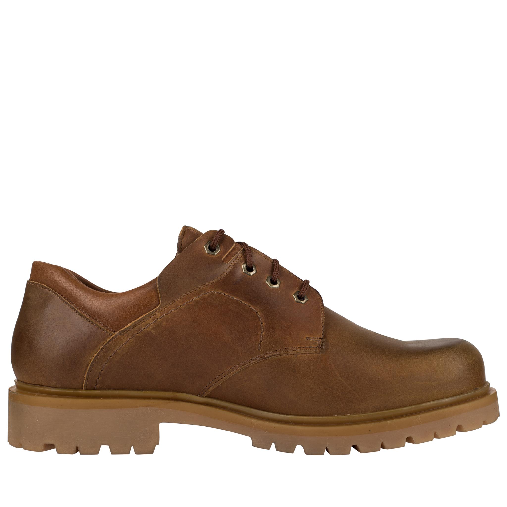 679378 полуботинки мужские коричневые больших размеров марки Делфино