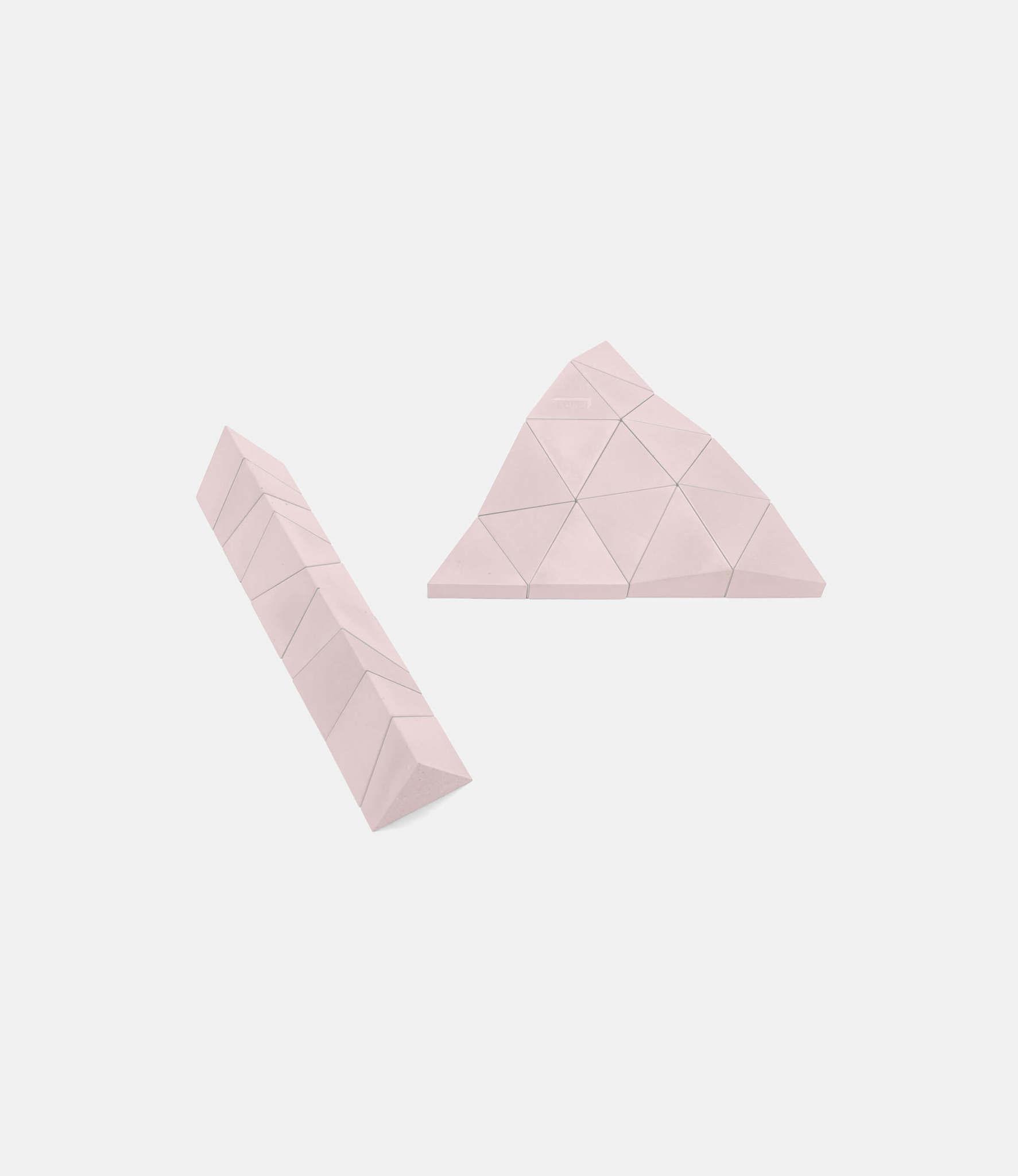 Logideez Logifaces Original Set Rose — пазл из бетона: розовый
