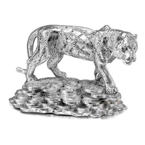Статуэтка тигр на монетах - Символ 2022 года