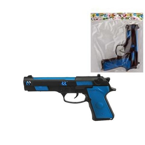 Оружие детское- Пистолет Трещетка цветной в пак.,1кор*1бл*6шт