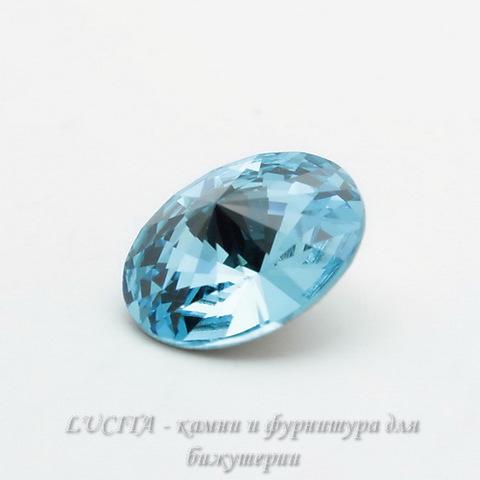 1122 Rivoli Ювелирные стразы Сваровски Aquamarine (14 мм)