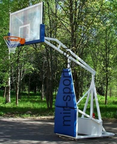 Стойка баскетбольная складная