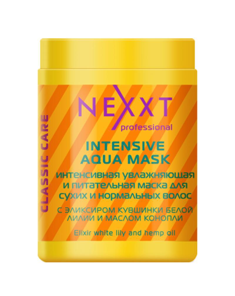 Интенсивная увлажняющая и питательная маска для сухих и нормальных волос, NEXXT, 1000 мл