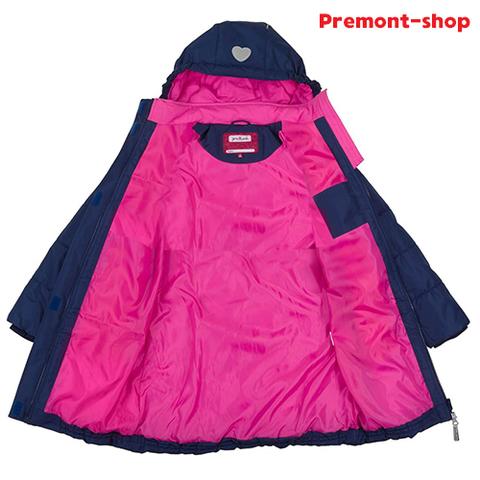 Пальто Premont Сердце океана для девочек S18164