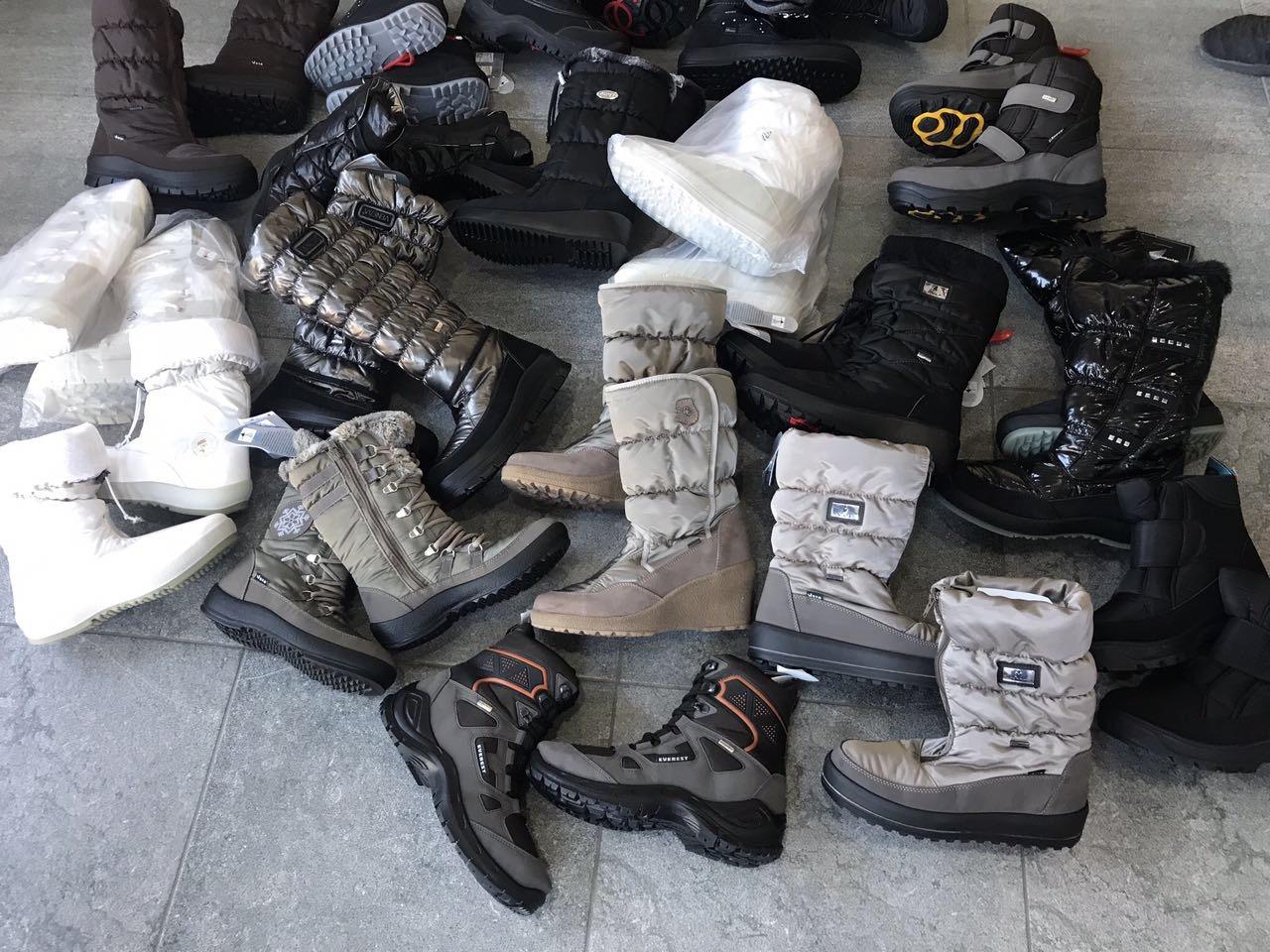 Обувь зимняя, итальянская, мужская и женская. Очень теплая. Есть вся ростовка.