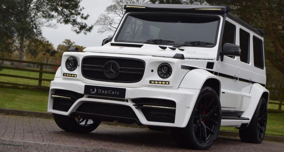 Обвес Onyx для Mercedes W463 G-class