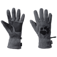 Перчатки Jack Wolfskin Paw Gloves grey heather