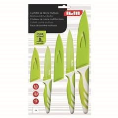 Нож кухонный 15 см, цвет зеленый, серия Easycook, 727615, IBILI, Испания