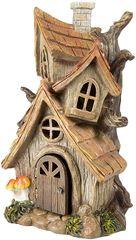 Силиконовый молд № 425 домик Скворечник 2 D ( серия домики для гномов и фей)