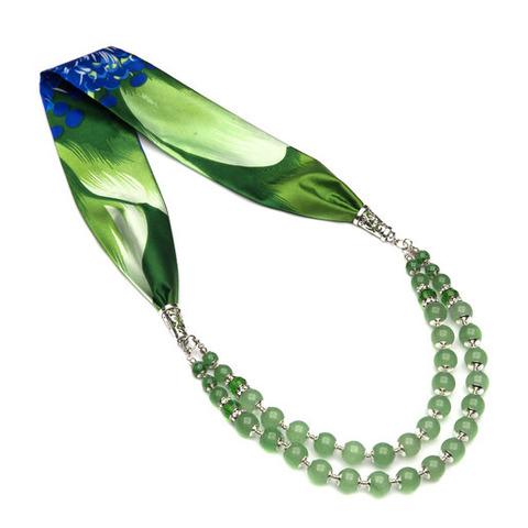 Ожерелье с авантюрином