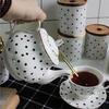 Фарфоровый чайник 800 мл