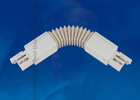 UBX-A24 WHITE 1 POLYBAG Соединитель для шинопроводов. Гибкий.Трехфазный. Цвет — белый. Упаковка — полиэтиленовый пакет.