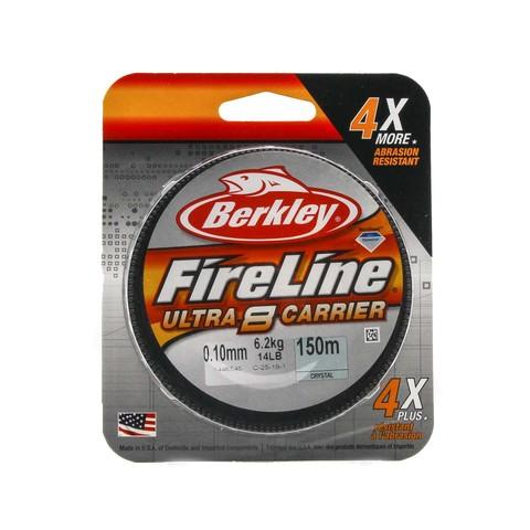 Плетеная леска Berkley Fireline Ultra 8 150M Полупрозрачная 0,10 Crystal