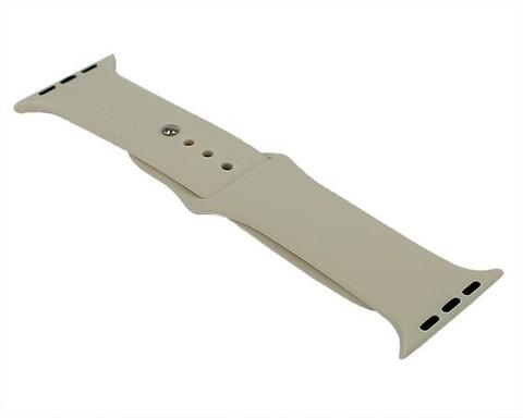 Ремешок для Apple Watch 42mm/44mm силиконовый | античный белый