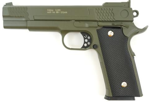 Страйкбольный пистолет Galaxy G.20G Browning металлический, пружинный