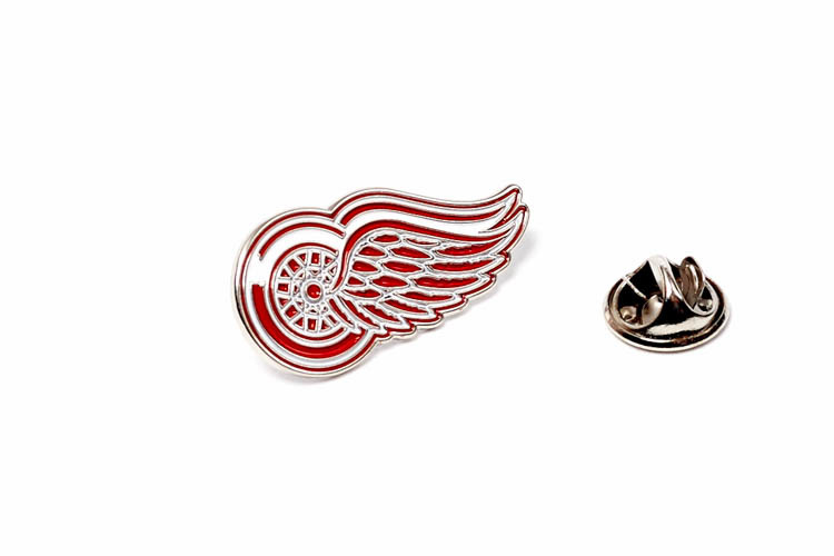 Значок NHL Detroit Red Wings