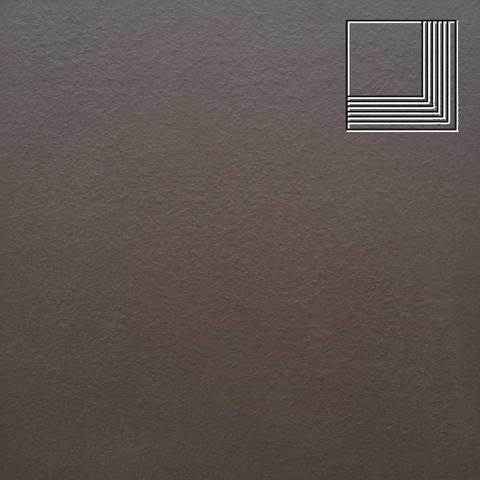 Ceramika Paradyz - Natural Brown Duro, 300x300x11, артикул 20 - Ступень угловая структурная