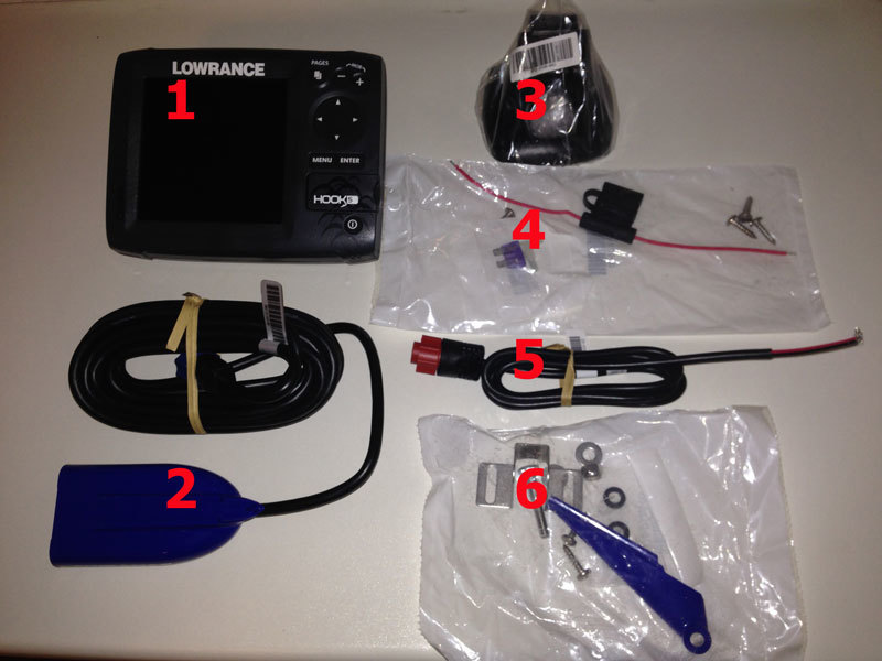 комплект Lowrance Hook-5