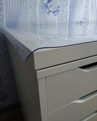Прозрачная накладка толщина 1 мм. ширина 40 см. длина от 40 до 200 см.