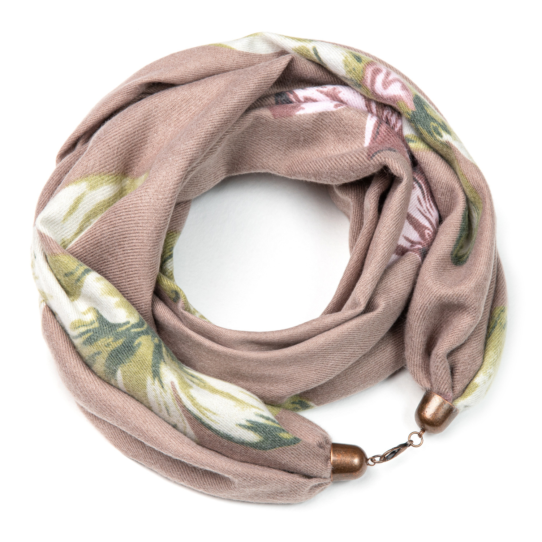 Кашемировый шарф снуд