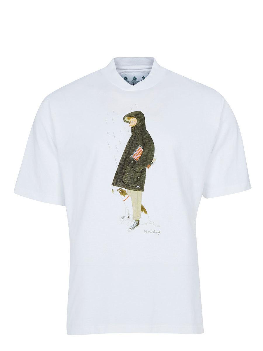 Barbour футболка Mr Slowboy Walk Tee MTS0845/WH11