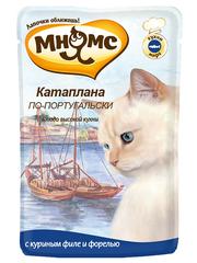Пауч для кошек Мнямс  Катаплана по-португальски (с форелью)