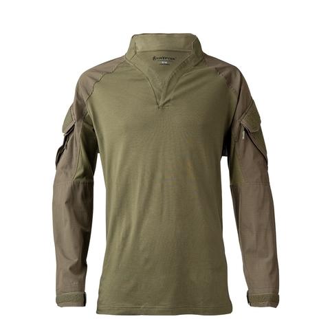 Толстовка KRYPTEK Tactical воротник Регби длинные рукава Ranger Green