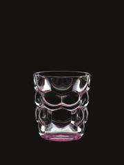 Набор из 2 стаканов для воды с розовым донышком Bubbles, 330 мл, фото 2